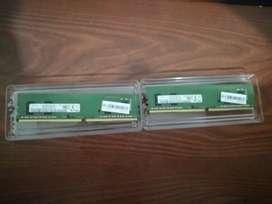 Vendo memorias ram 4 Gb samsung