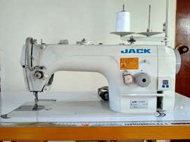 Máquina Plana Megatrónica Jack Con Motor Ahorrador
