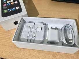 Cable lightning + Cubo + Earpods o Audifonos de Iphone Nuevo Original