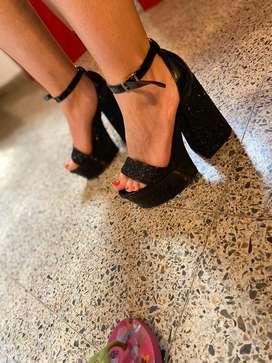 Sandalias sin uso
