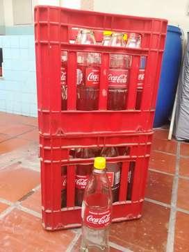 Canasta de litro Coca-Cola retornable