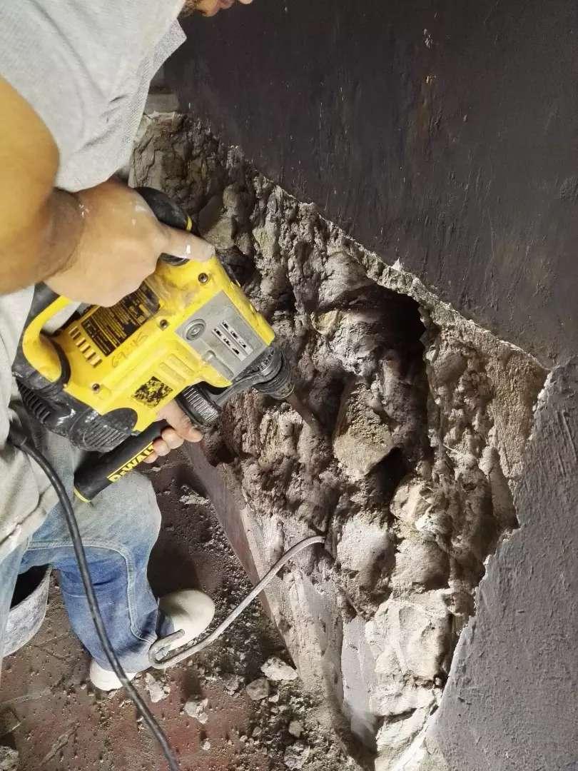 Alquiler Rotomartillo para demoler y perforar concreto 0