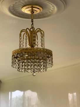 3 lamparas bacara con dos apliques