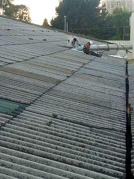 Techos, Tejados, terrazas construcción, mantenimiento