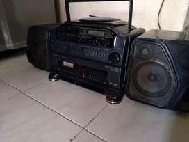 Radio grabadora Ficher