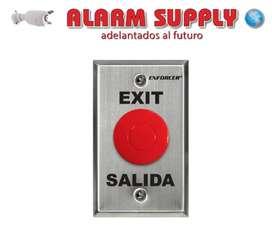 Botón Salida Control Acceso