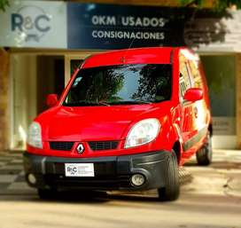 Renault Kangoo Confort 1.6L (carrozada) con GNC ´13 - 142.000km