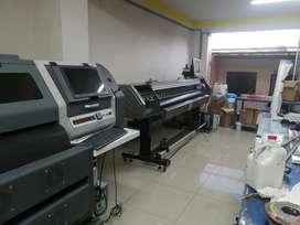 Ayudante para imprenta y gigantografias