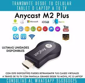 Anycast M2  Plus Chromecast Proyector Pantalla Tv Miracast Exclusivo