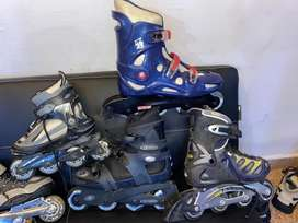Rollers o patines de 4 ruedas impecables