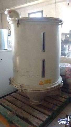 Tolva secadora para plástico
