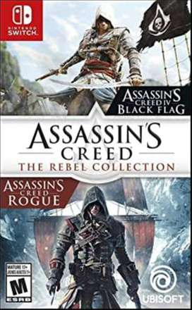 Vendo Assassin's Creed The Rebel Collection para Nintendo Switch