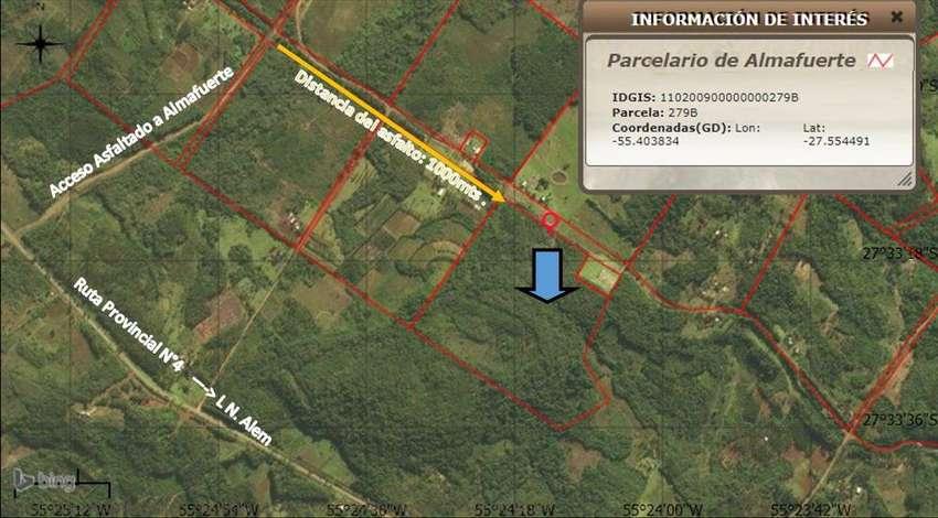 VENDO CHACRA:  Superficie: 23,94 hectáreas 0