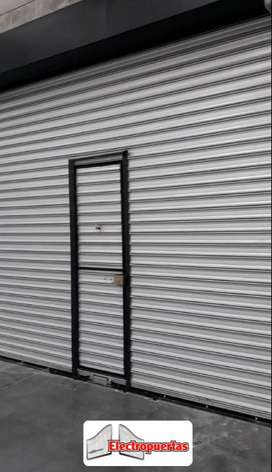 CORTINAS METALICAS ENROLLABLES