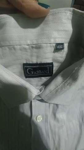 Camisa Hombre Gabbani Talle 41/42, Zona Norte!!