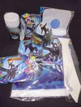 Kit Decoración Piñata Fiesta Infantil Chimuelo 12 Invitados