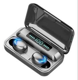 Audifonos Inalambricos Bluetooth F9 Audio 9d Original con power bank
