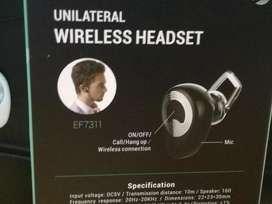 Auricular Bluetooth Headset Monoaural Microfono Celular Efftec EF7311