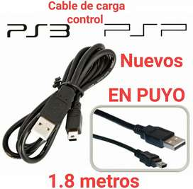 Cable de carga de control ps3 psp disco duro y mas dispositivos