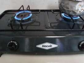 Estufa de segunda de mesa a gas
