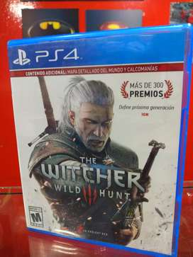 The Witcher 3 PS4 fisico