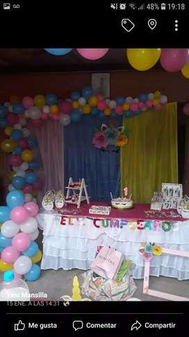 Decoración y servicio de eventos