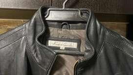 chaqueta cuero kenneth cole new york