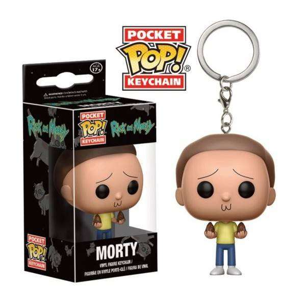 Funko Pocket Pop Keychain Llavero Morty
