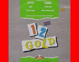 12 INCH GOLD SERIES by STYX / TUBES vinyl 12 pulgadas Lps Records acetatos vinilos singles discos para tornamesas Djs