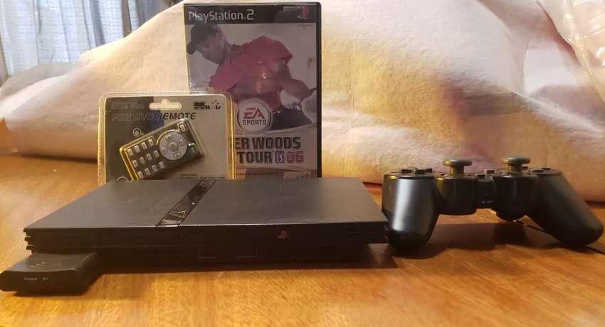 Playstation 2 Slim En Caja 0