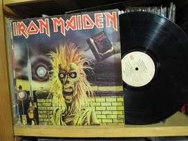 Iron Maiden – Iron Maiden - Vinyl ARG 1 edicion 1980