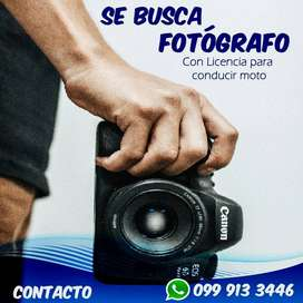 Fotógrafo, Editor