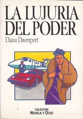 Libro: La lujuria del poder, de Diana Davenport [novela de espionaje]