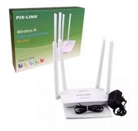 Router repetidor wifi pix link 2 antenas