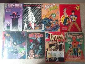 Comic de Marvel DC y otros SPIDERMAN BATMAN VENGADORES TORPEDO entre otros