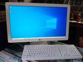"""!!SEGUNDAZO BACANO!! TODO EN UNO LG INTEL CELERON N2910 4GB DE MEMORIA RAM 500GB EN DISCO DURO PANTALLA DE 20"""""""