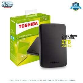 Disco Duro Externo Toshiba 1 Tb Canvio Basics
