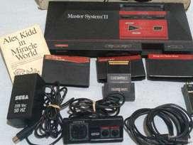 Consola Sega Master System 8kb Color Negro Y Rojo