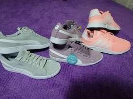 Zapatos puma  adidas y tommy