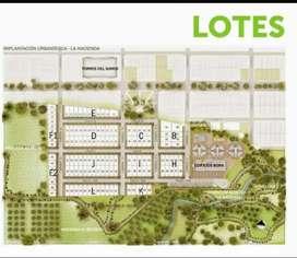 Vendo Lotes urbanización La Hacienda
