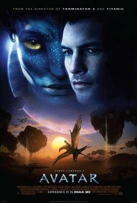 Película. DVD. Avatar