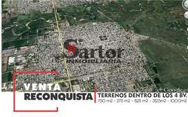 TERRENOS EN RECONQUISTA S.F.