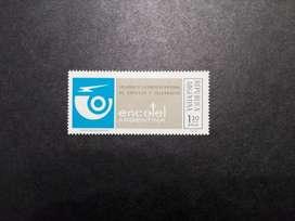 ESTAMPILLA ARGENTINA, 1974, CREACIÓN EMPRESA ENCOTEL, MINT