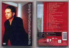 Simply Red - Greatest Hits Video Hits - 2002 - Argentina