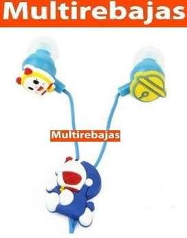 Audifonos Para Celular De Doraemon