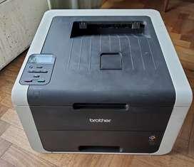 Impresora brother hl 3150 4 colores repuesto c 1 toner negro