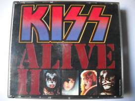kiss alive ll 2 cd importados impecable fat box