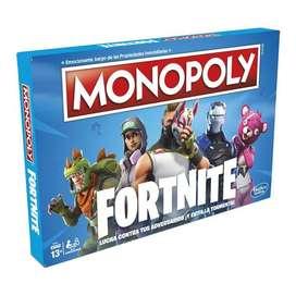 Monopoly Fortnite Nuevo - Juego de Mesa