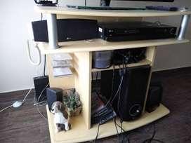 Mesa de TV con porta CD