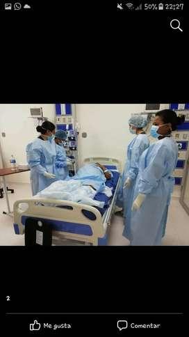 profesional en auxiliar de enfermeria